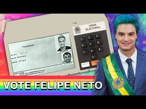 ME CANDIDATEI A PRESIDENTE DO BRASIL