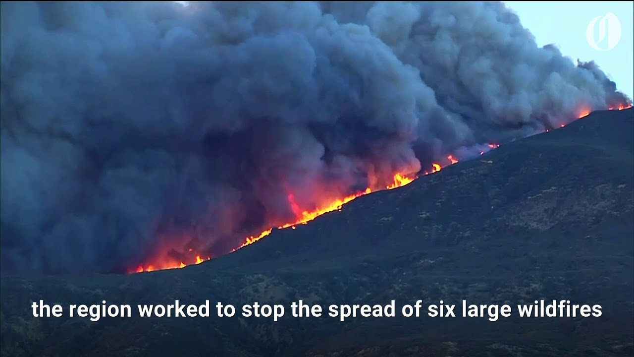Raging wildfires continue in California