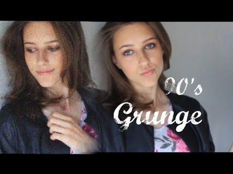 Grunge 90's Makeup Full Face