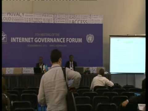 IGF2012- WS 78 - Internet Governance of Open Government Data