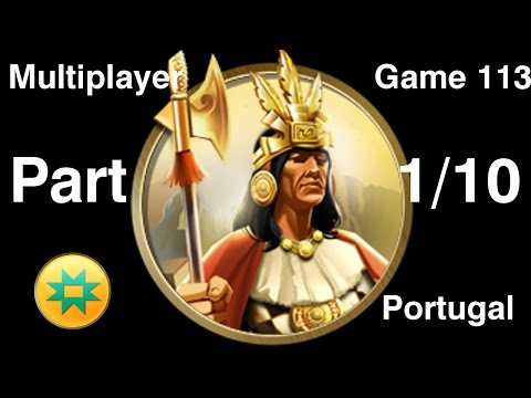 Civilization 5 Multiplayer 113: Inca [1/10] ( BNW 6 Player Free For All) Gameplay/Commentary