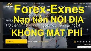 Forex-Exnes,Tại sao nên nạp tiền vào tk ECN'Exnes',nạp tiền bằng thẻ Nội địa,'Vietcombank'
