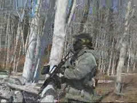 2009 Annual Winter Big Game at Wasaga Beach Paintball. You just can't hold a camera and shoot a pump marker at the same time! Event date was Saturday March