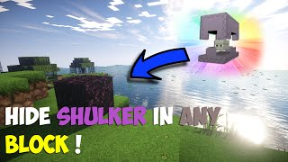 Hide Shulker In Any Block Minecraft 1.9