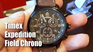 Timex T499059J Expedition Field Chronograph Watch