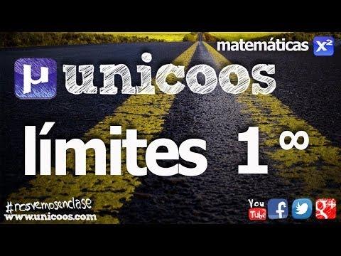 Limite con el numero e BACHILLERATO (1 elevado a infinito sin formula) matematicas