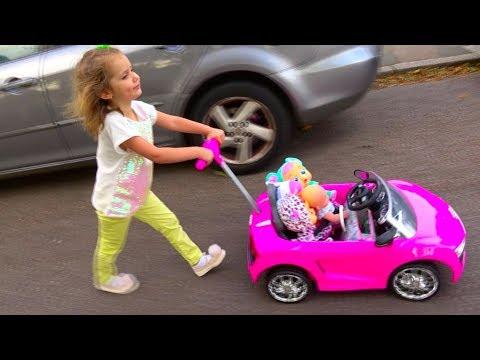 Cry Baby Dolls by Cry Babies /Рутина маленького блогера /Катя- мама /Nursery Rhymes / Pretend Play