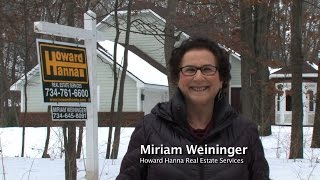 Selling Your Home for the Best Price in the Ann Arbor area with Miriam Weininger