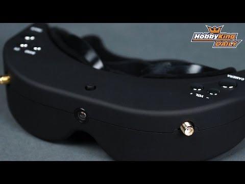 HobbyKing Daily - Skyzone Headtracking FPV Goggles