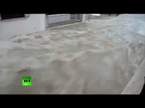 Athens flood: Heavy rains bring chaos to Greece capital