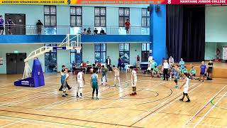 Basketball Nat A Div Boys Semi Finals 2019: NYJC VS ASJC - Q1