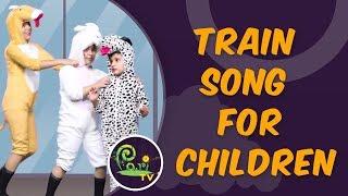 Train Song | Train Song for Children | Kids Learning Videos - Pari TV | 4K Video