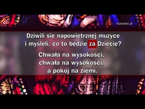 Kolęda - Przybieżeli Do Betlejem (karaoke)