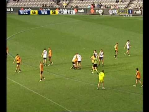 afldraftinfo.com - Jack Darling vs Vic Country - 2009 AFL U18 Championships