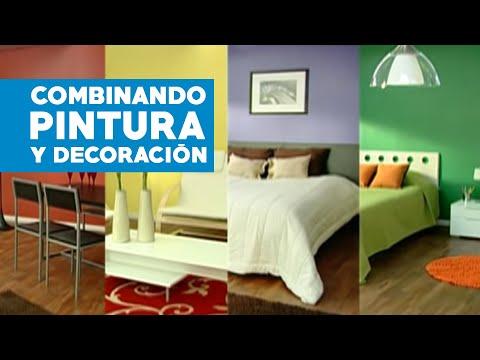 C mo combinar pintura y decoraci n youtube - Combina colores en paredes ...