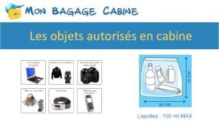 Liste des objets interdits en avion MonBagageCabine