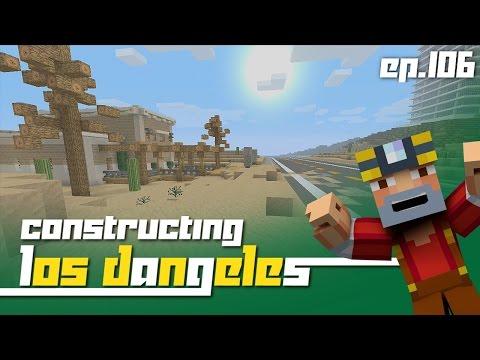Minecraft Xbox 360: Constructing Los Dangeles Episode 106 Mining Co.