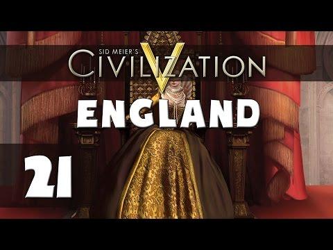 Civilization 5 - Let's Play England (Deity) - Part 21 - Finale