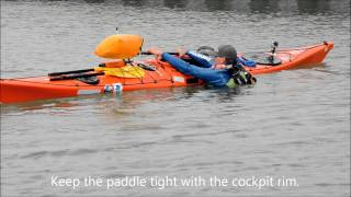 NORTHSEAKAYAK - The Paddle Float Self Rescue