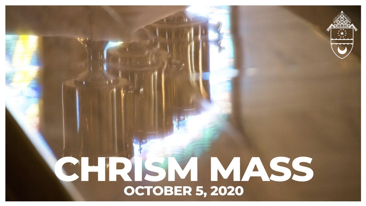 Chrism Mass Promotion