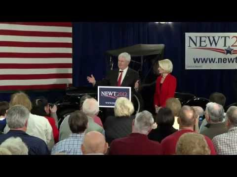 "Newt calls Obama's Pipeline decision ""stupidity"" - like he's ""governing Mars"""