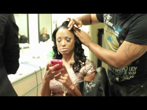 KD Aubert behind the scenes- The STNDRD Magazine photo shoot PT.1