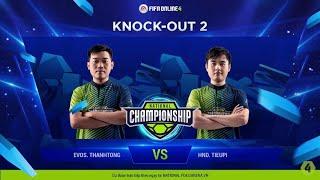 Trận Knock-out 2 - EVOS Thanh Tòng vs HND Tieupi [NC2019S1 - 17.03.2019]