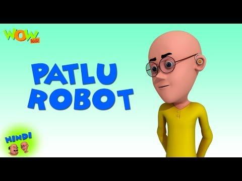 Patlu Robot - Motu Patlu in Hindi - 3D Animation Cartoon for Kids - As seen on Nickelodeon thumbnail