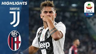 Juventus 2-0 Bologna | Juventus Continue Perfect Start to the Season | Serie A
