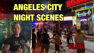 Angeles Philippine night scenes | Angeles nightlife | 필리핀 앙헬레스 밤문화 밤거리 구경