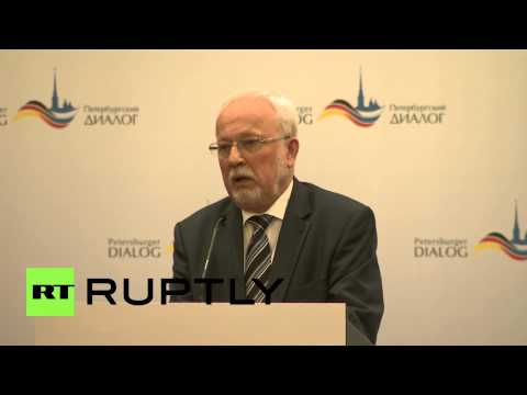 Germany: Petersburg Dialogue discusses future of Russian relations