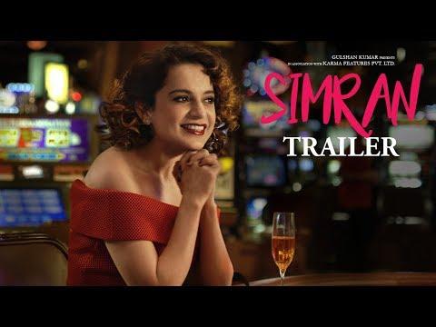 Simran Official Trailer | Kangana Ranaut |  Hansal Mehta | T-Series