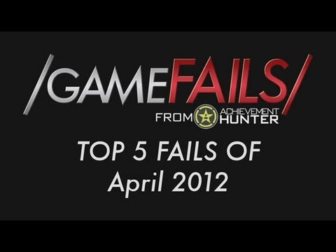 Game Fails: Best 5 fails of April 2012
