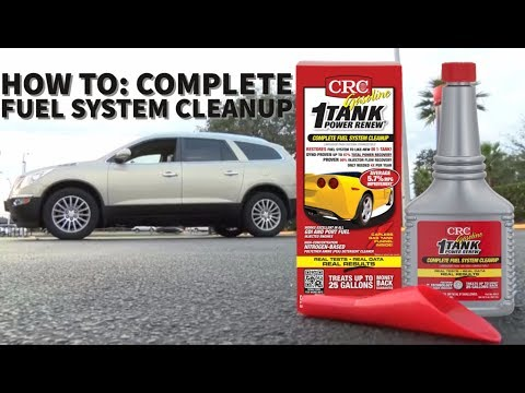 The Lifestyle List TV CRC 1-TANK Fuel System Cleaner 2016