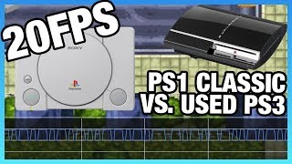 PS1 Classic Letdown: PAL & NTSC Benchmarks vs. Used PS3