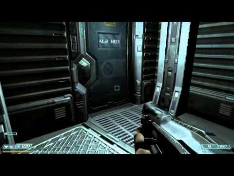 Groping In The Dark - Doom 3: Bfg Edition (part 3) - Trivial Punk Gaming video