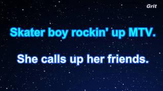 download lagu Sk8er Boi - Avril Lavigne Karaoke【no Guide Melody】 gratis