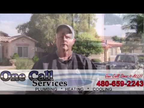 air conditioning repair service in mesa az - One Call Services review