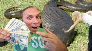 OFFERING $50,000 for a 30 FOOT SNAKE!! CLAIM YOUR PRIZE!! | BRIAN BARCZYK
