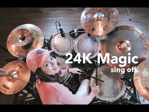24K Magic (Drum Cover) - Rani Ramadhany