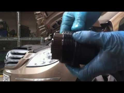 Mercedes B200 W245.  oil engine change
