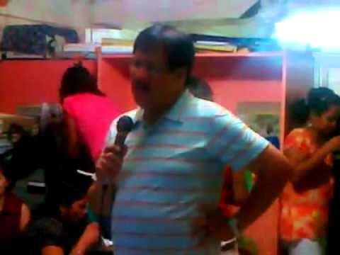Sec.Jesse Robredo singing my Elusive dreams