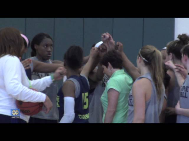 Final Four, Day 2 - Notre Dame Women's Basketball