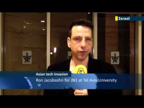 JN1's Ron Jacobsohn reports about the latest Asian Invasion in the Israeli Hitech Industry