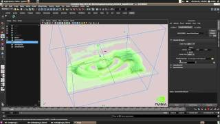 NVIDIA Maximus increases particle simulation exponentially in Autodesk Maya 2012