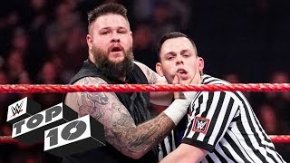 Cheating referees: WWE Top 10, March 1, 2020