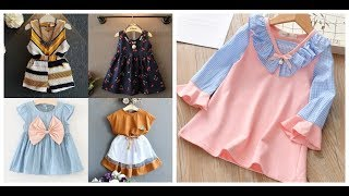 casual toddler little girls dresses=kids summer wear outfits=decent baby dress clothes