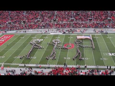 Ohio State Marching Band Halftime 11-23-13