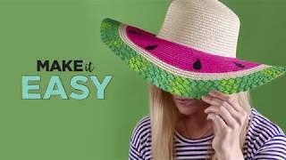 Watermelon Hat DIY   Michaels