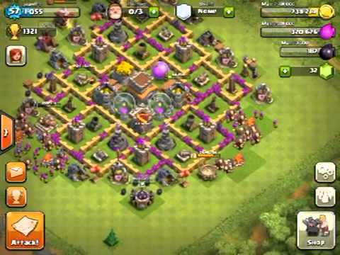 Best town hall level 8 defense clash of clans